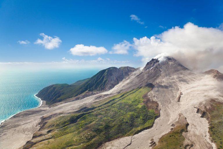 Montserrat Soufriere Volcano 767378659