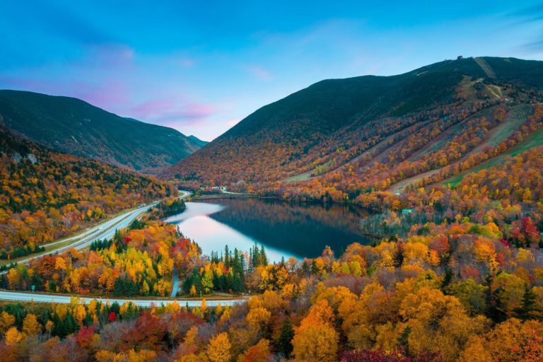 Usa New England New Hampshire White Mountains And Franconia Notch State Park 737942368